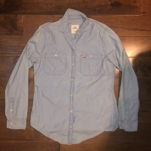 Jean button down